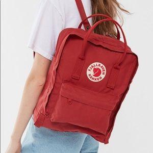 NEW Fjallraven Kanken Backpack - red